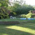 Jardín y pileta