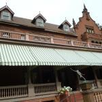 Back Porch at Ventfort Hall