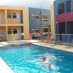 piscina descubierta climatizada