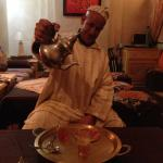A late night tea and chat with Abdul Latiff