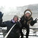 Ian & I @ Niagara Falls - January 2015