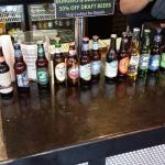 Great lineup of craft beer for such a small place