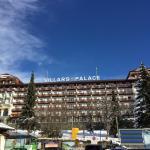 Vue de l'hôtel à proximité de la gare pour accéder aux pistes
