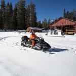 Snow machine rides