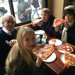 Sharing a Pizza in the Bronx with Cliff