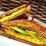 Morning Glory breakfast sandwich