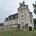 Vue sur la terrasse du Château