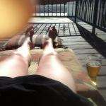 A great rooftop deck