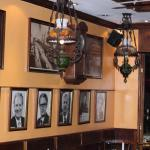 Photos of former German Chancellors lined the walls.