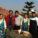 Good persons from hotel happy home