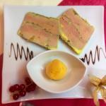 Foie gras aux agrumes et glace à la mandarine