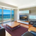 Lounge with ocean views