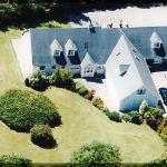 Aerial View of St. Thereses B&B.