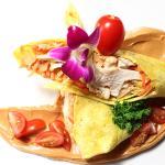 Amazing chicken wrap