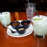 Agave Nectar Margaritas & PF Changs signature dipping sauces