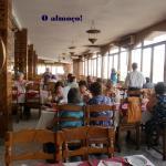 vista da sala de refeição......