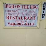 Foto de High on the Hog BBQ