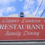 Copper Lantern