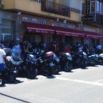 Bar Restaurante Europa-Concentración de motos