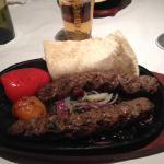 Main course - kofta meshwi