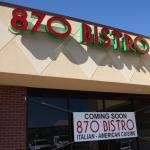 Photo of 870 Bistro