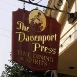 Davenport Press Restaraunt