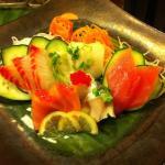 Sashimi plate!