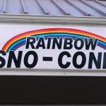 Photo of Rainbow Sno-Cones