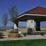 Wedding Pavilion with Mountain Views