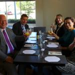 Our lunch at The New London, Chelmsford