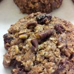 Spelt Cranberry Pecan Cookies