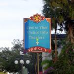 Colorful signage
