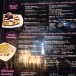Waffles and crepes... Make your own option as well!