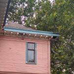 Holes in the soffit and general disrepair