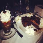 Brownies e caffè kinder
