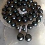 beautiful Black Pearl Set