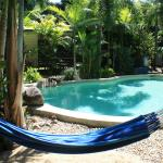 Hammock by the pool