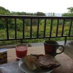 Relaxing Breakfast each morning