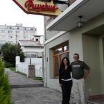 Con mi hermano en Bariloche!