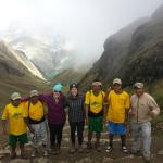 Amazing group of superhero Quechua men - wouldn't have been the same without this fantastic team