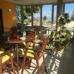 Breakfast room porch