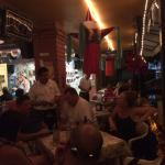 Some of the Crowd having a blast at Cafe Roma, Puerto Vallarta, Mexico