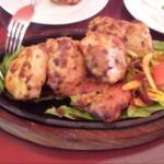 Tasty malai kebab
