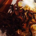 Burnt onion rings
