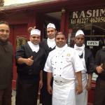 Kashmir team