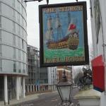 Hotel pub sign