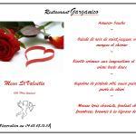 # menu St Valentin #
