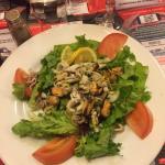 salade aux fruits de mer (entrée)