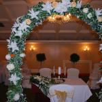 Flower Arch @ Ceremony