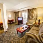 Lounge area in one bedrrom suite